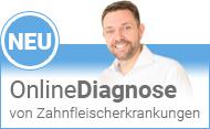 Onlinediagnose von Zahnfleischerkrankungen