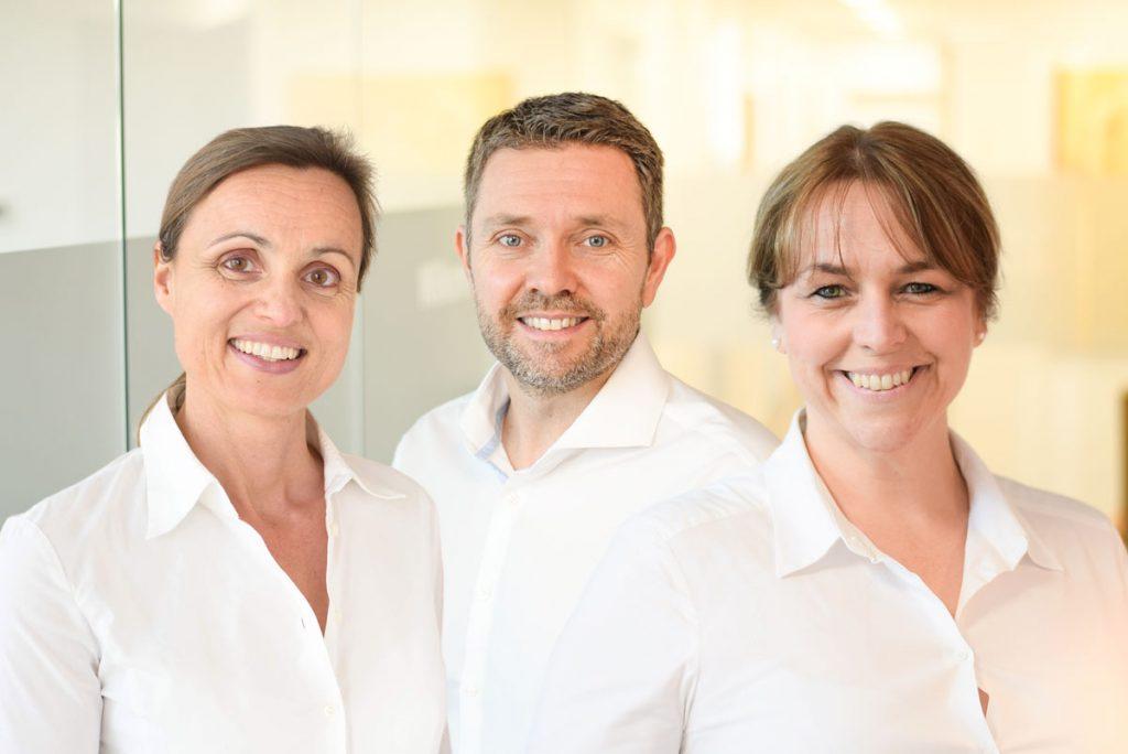 Das Team der Zahnfleisch-Praxis