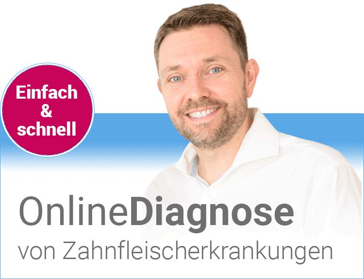 Online Diagnose Zahnfleischentzuendung